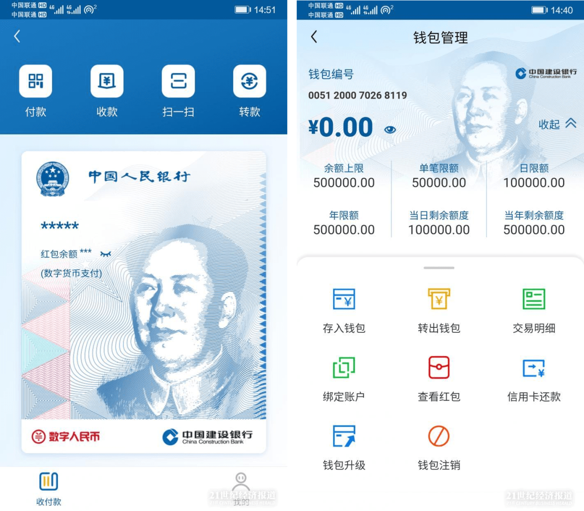 Major Chinese Bank Launches Central Bank Digital Currency Wallet Briefly