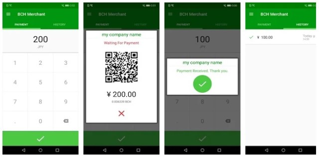bch-merchant BCH Merchant App Allows Businesses to Accept Crypto Payments in Store