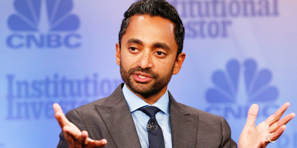 Virgin Galactic Chair Chamath Palihapitiya Bullish on Bitcoin, Project $1 Million