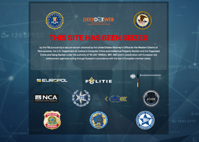 Feds Seize News Site Deepdotweb as Darknet Crackdown Intensifies