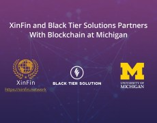 XinFin, Black Tier Solutions and Blockchain at Michigan Announce Joint Partnership - Bitcoin News