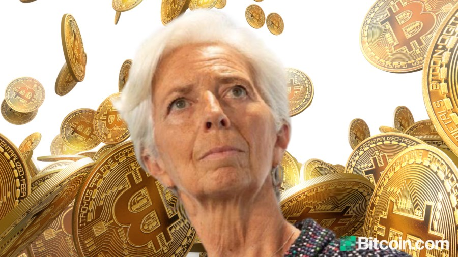 ECB President Christine Lagarde Says 'It's out of the Question' That Central Banks Would Hold Bitcoin Soon