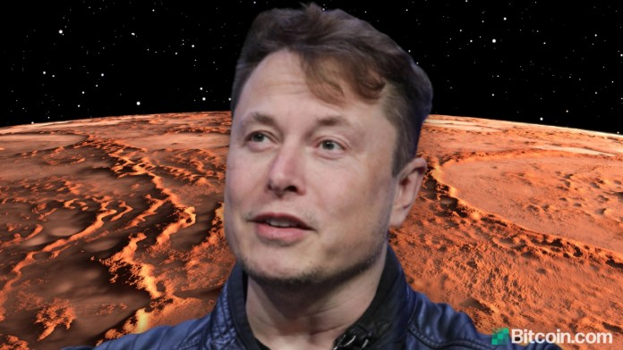Elon Musk Endorses Cryptocurrency for Martian Economy