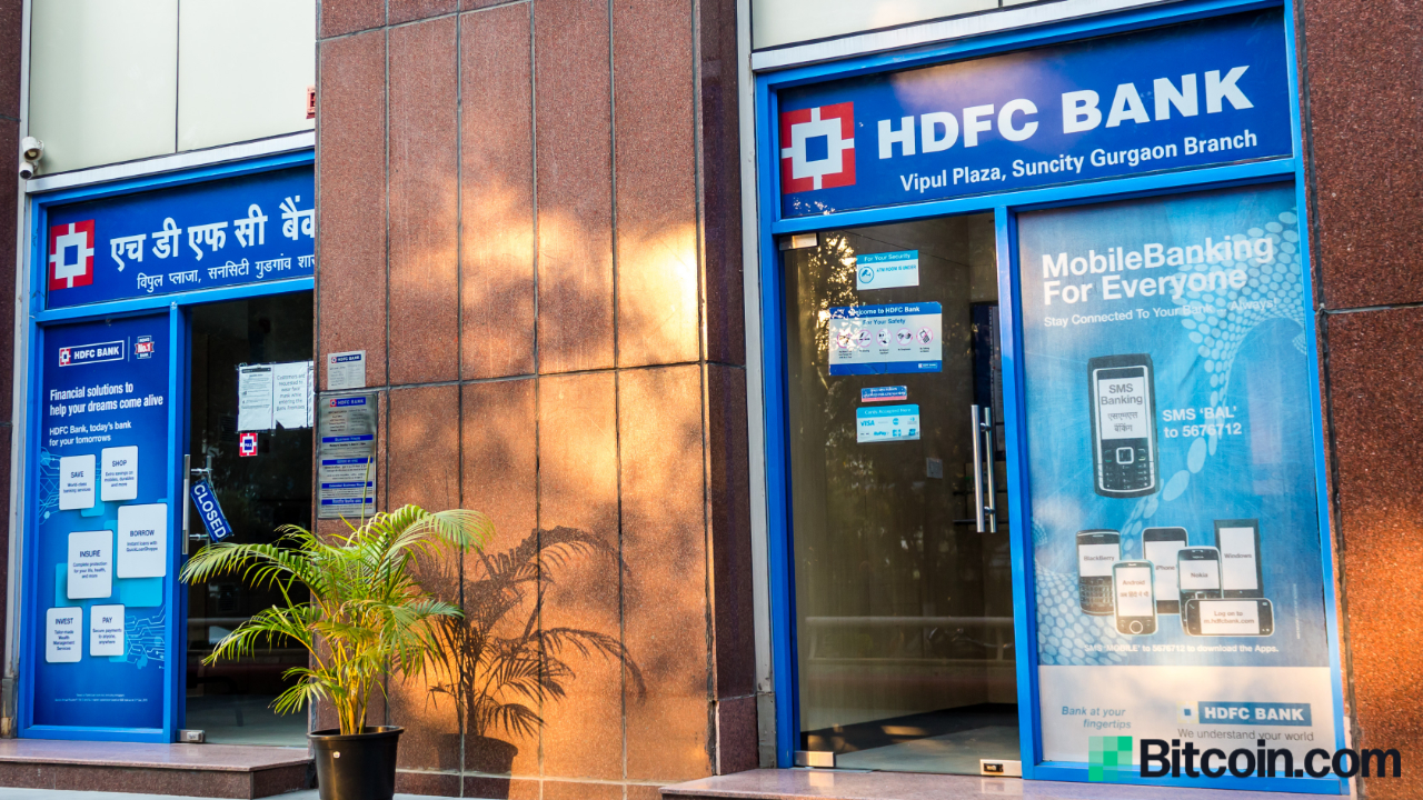 Major Indian Bank HDFC Says 'It's a Matter of Time Before Indian Investors Have Legal Access to Crypto Plays'