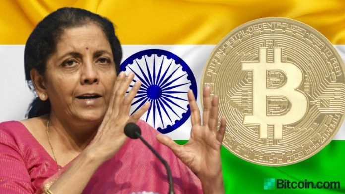 Indian Government Open to Exploring Cryptocurrencies — Finance Minister Offers New Clues About Crypto Regulation