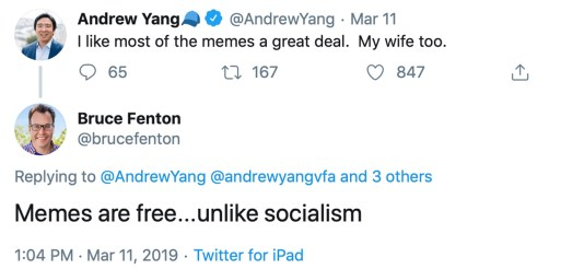Presidential Candidate Andrew Yang Believes Current Legislators