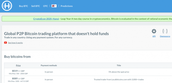 You Can Privately Cash out Bitcoin on These P2P Exchanges – for a Premium