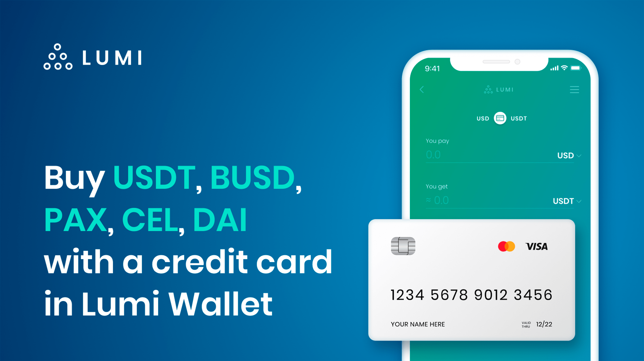 Photo of Buy Stablecoins With Your Credit Card in Lumi Wallet | Press release Bitcoin News