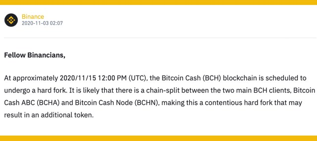 Hashtable: Bitcoin Cash service reveals contingency plan for upcoming fork