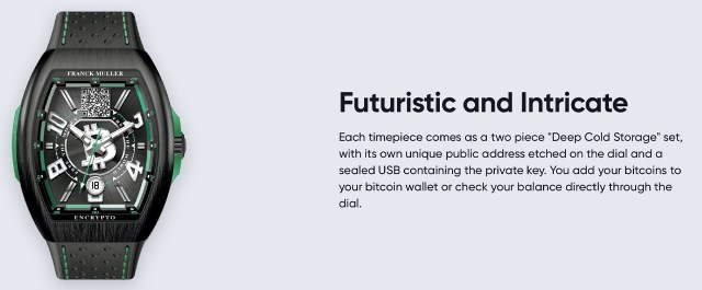 Bitcoin.com presents a limited edition Bitcoin Cash watch made by luxury watchmaker Franck Muller