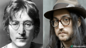 John Lennon's Son Says Bitcoin Empowers People, Gives Him Optimism in Ocean of Destruction