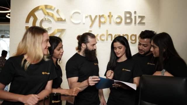 CryptoBiz Exchange launched in India