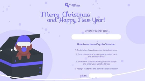 Crypto Voucher, Thinking Crypto Gift for Your Girlfriends