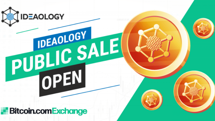 Ideaology Launched IEO Public Sale Today on Bitcoin.com Exchange