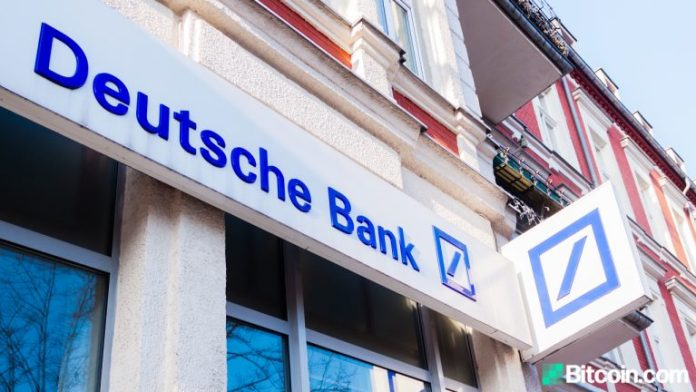 Deutsche Bank: Bitcoin Now 3rd Largest Currency, Too Important to Ignore