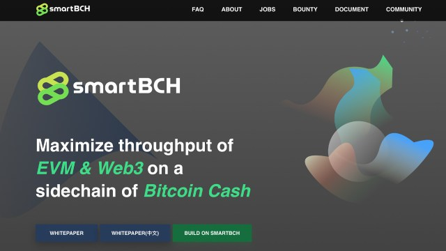 The power of ETH and BCH: Smart Bitcoin Cash project highlights innovative sidechains