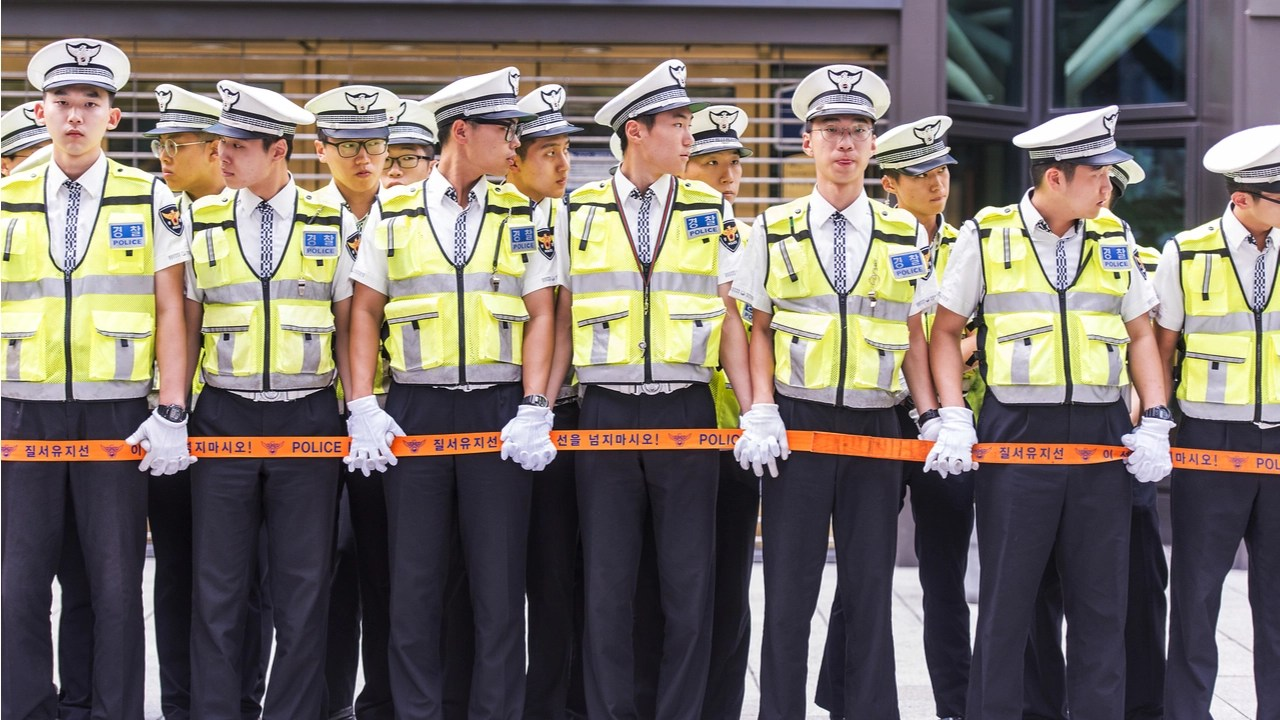 South Korean Police Officers Banned From Buying Cryptocurrency