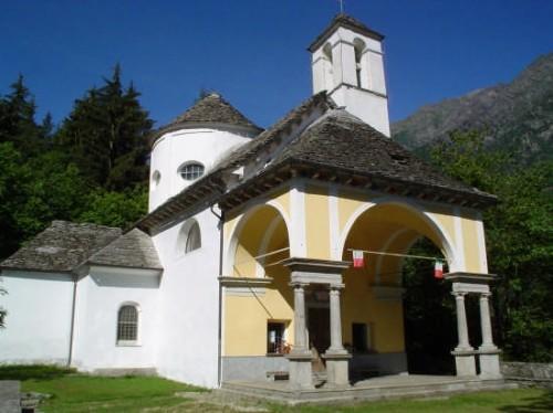 Santuario della Madonna della Neve Bannio Anzino