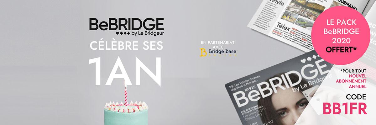 BeBRIDGE vous offre un <strong>cadeau!</strong>