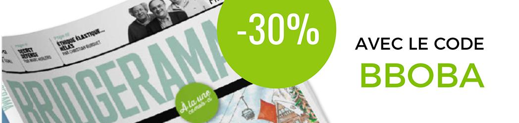 Profitez de -30% sur l'abonnement annuel Bridgecadre