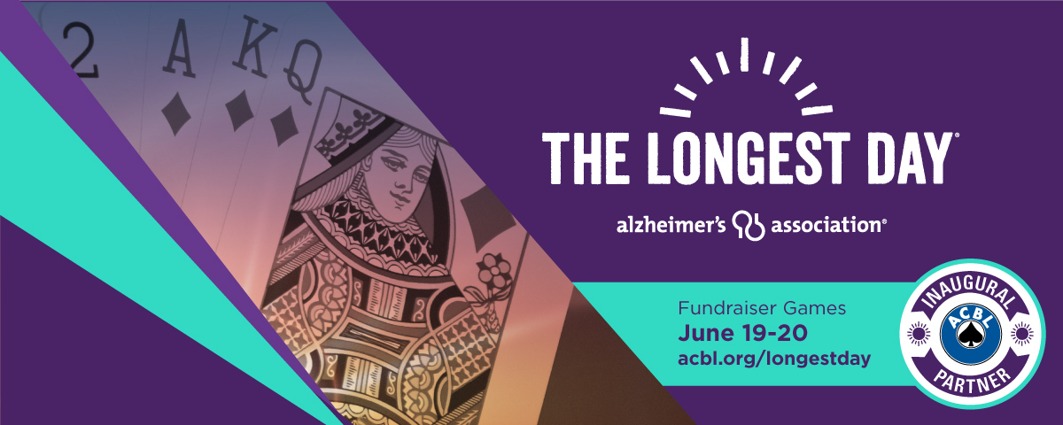 Play in the <strong>ACBL</strong>'s Longest Day, June 19-20