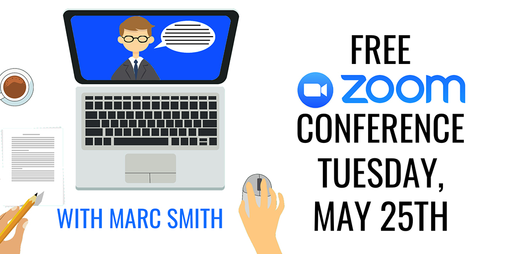 Register now for the free conference with Marc Smith