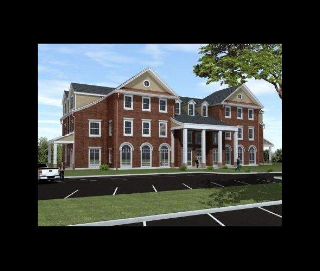Architects Rendering Of Farmhouse Fraternity