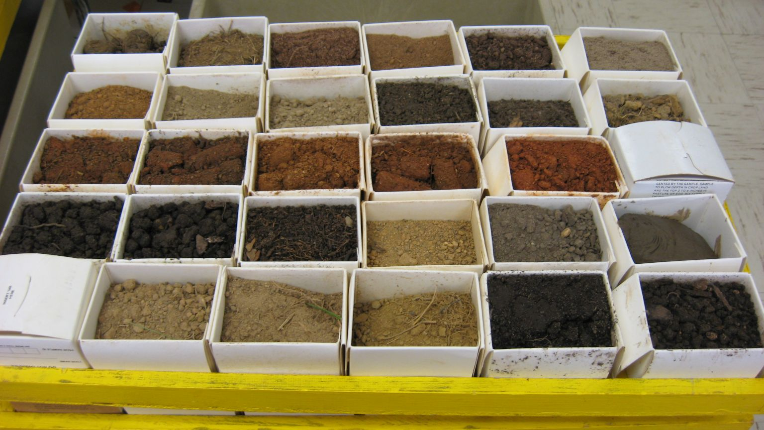 Soil Testing Laboratory Helps Save Money And The