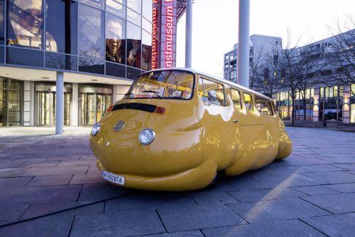 German sausage and the Volkswagen food truck