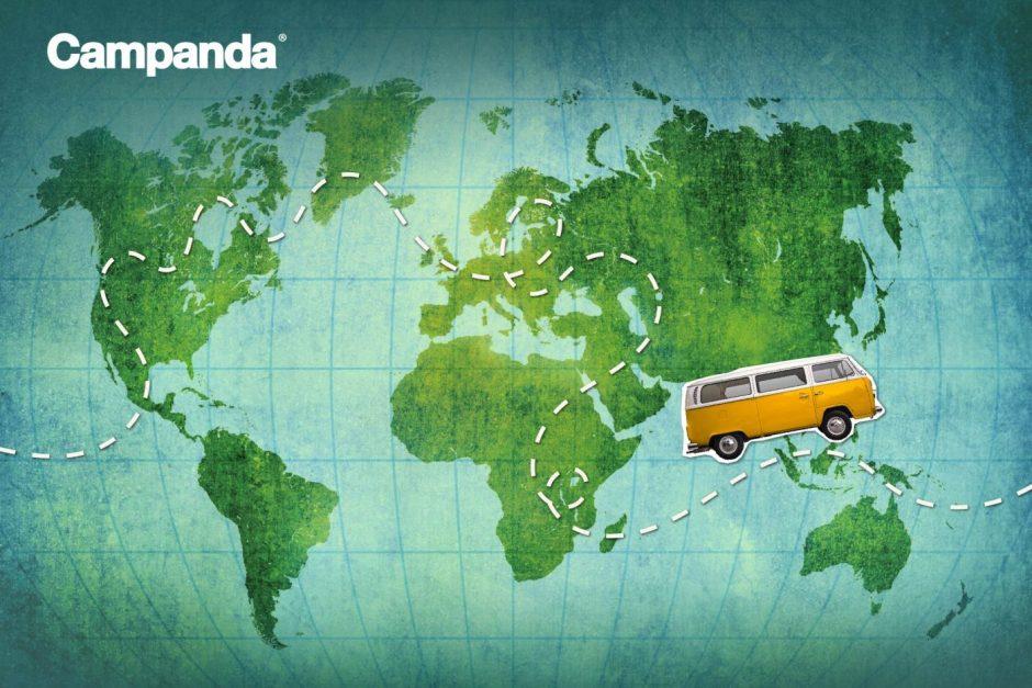 Campandas Top Reiseziele - Von Europa bis Australien und Südamerika