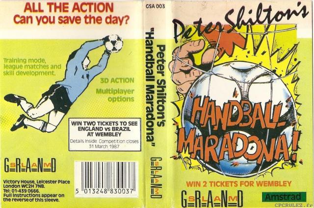 Peter Shiltons Handball Maradona