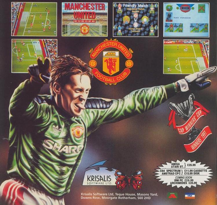 Manchester United Europe (Krisalis) ¡una joya de 1991!