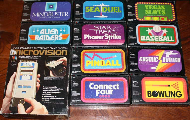Milton Bradley Microvison juegos