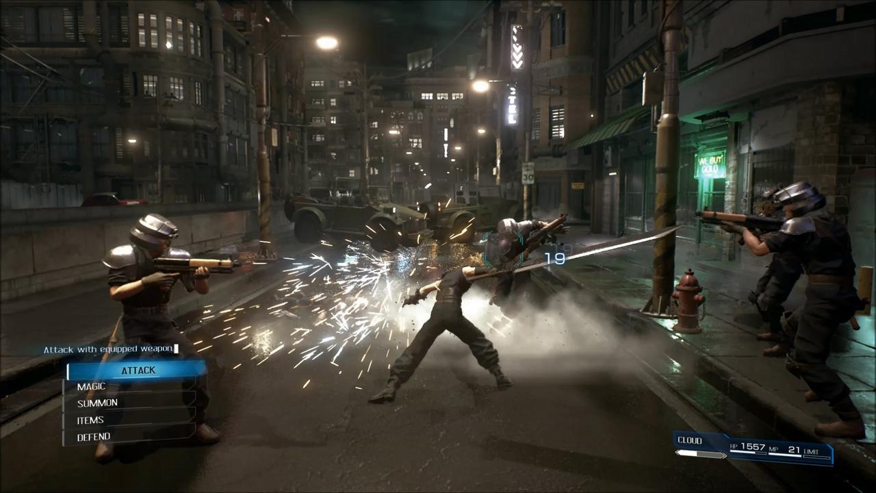 ¡Capturas de Final Fantasy VII remake!