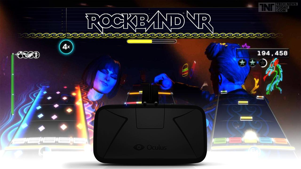 ¡Conocé Rock Band VR!