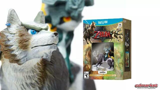 ¡LLEGO! The Legend of Zelda: TP HD edición con Amiibo