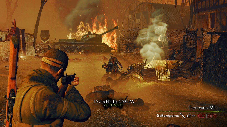 Directo desde la #E3 gameplay de Sniper Elite 4