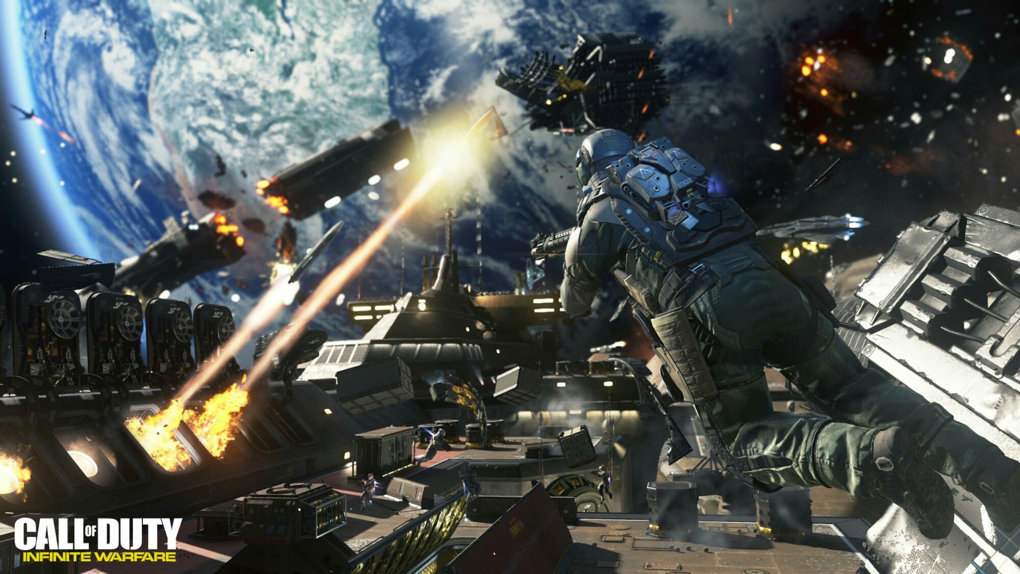 15 minutos de Call of Duty: Infinite Warfare