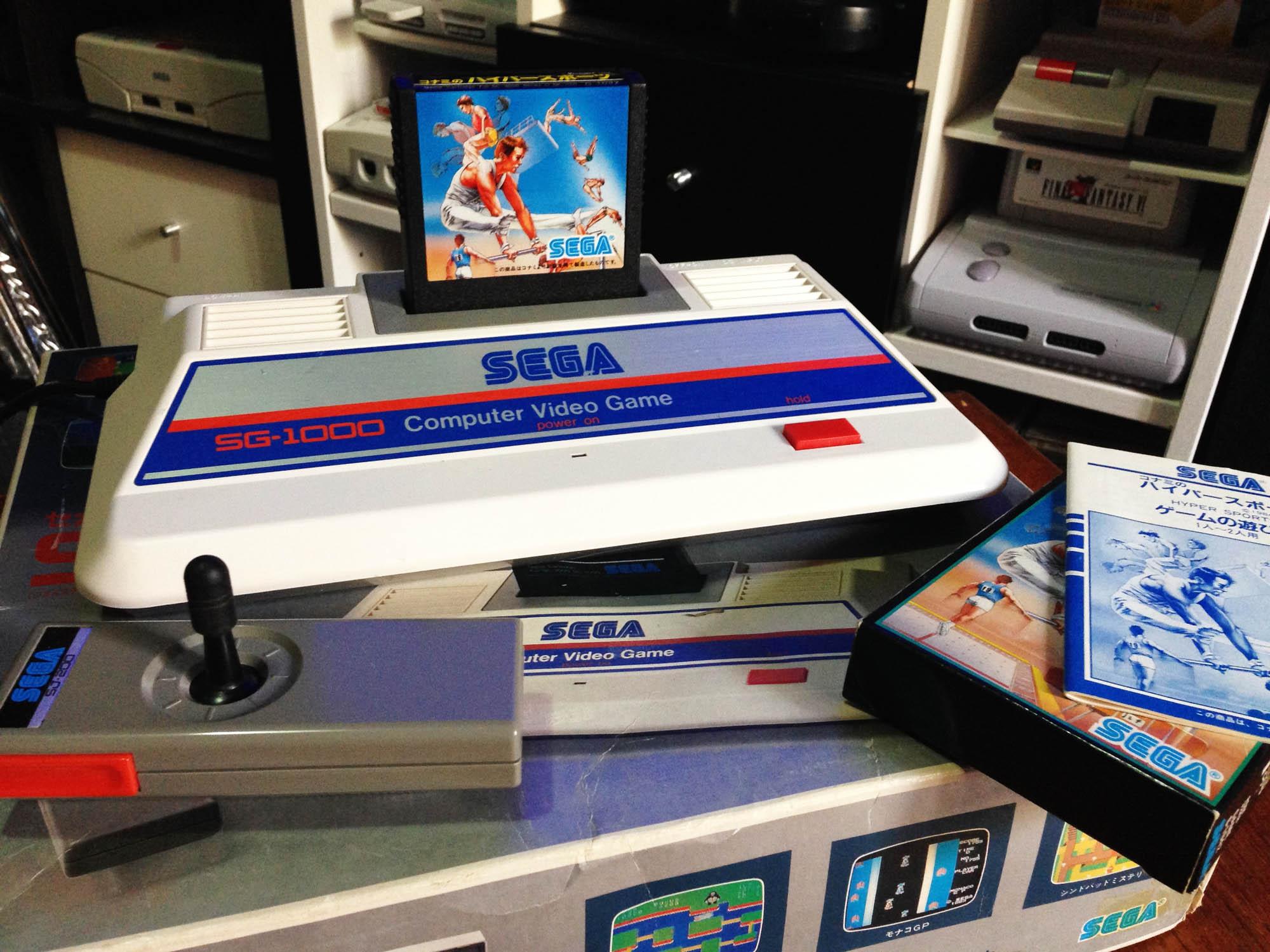 ¿Cuál fue la primer consola de Sega?