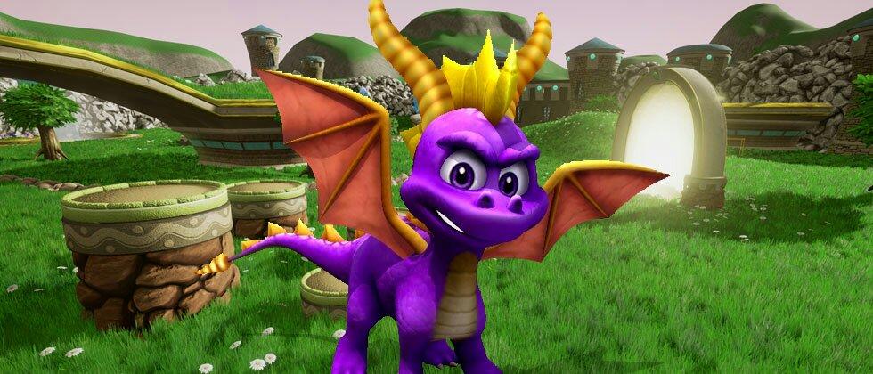 Spyro The Dragon cumple 19 pirulos