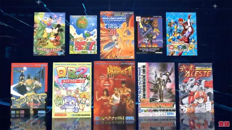 Sega anuncia 10 nuevos juegos paraMega Drive Mini