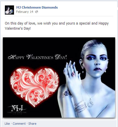 Valentines Day Facebook Wrapup What Your Peers Posted