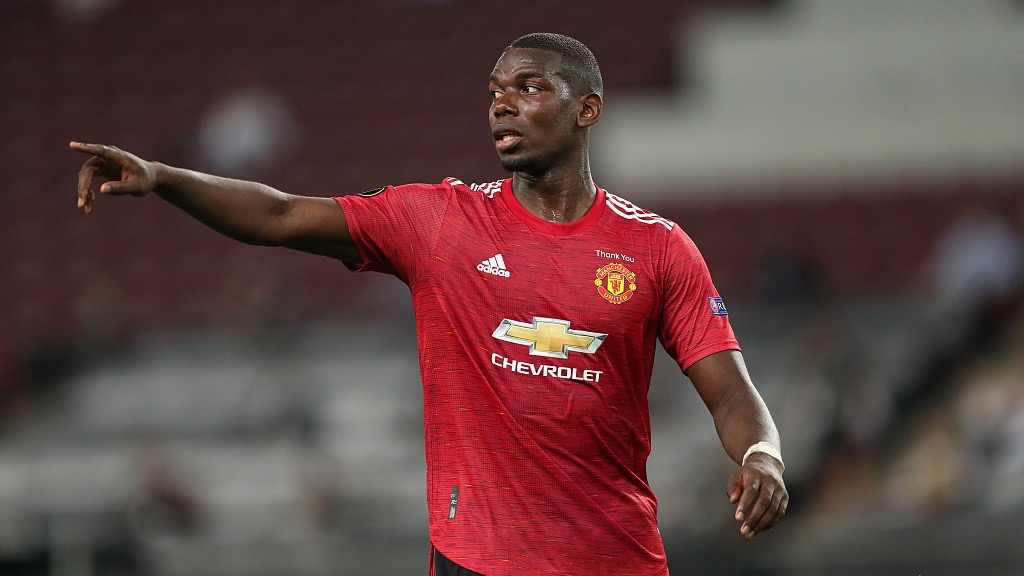 Paul Pogba to stay at Man United this summer, says agent Mino Raiola - CGTN