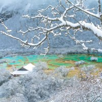 Snow covers Huanglong Scenic and Historic Interest Area in SW China; CGTN