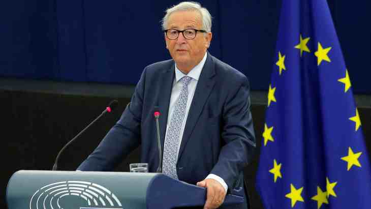 Image result for EU's Juncker says aims for close ties with Britain after Brexit