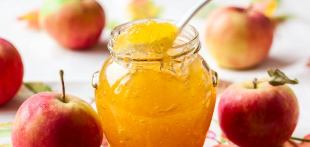 معجون التفاح