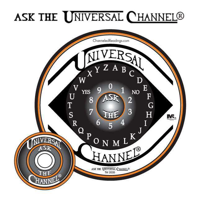 """Ray Holley and Linda Deir are the world's foremost authorities and teachers on the correct use of Ask The Universal Channel® talking board when communicating with this """"Higher Intelligence Source."""" We use Ask The Universal Channel® talking board exclusively to channel the information in the CR News Reports©"""