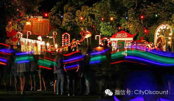 看灯了囉!南半球最逼格的圣诞灯展开展在即!约!约!