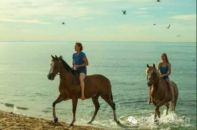求扩散!如果那天你碰巧在墨尔本,请帮这个中国男人寻找海边骑马的母女…