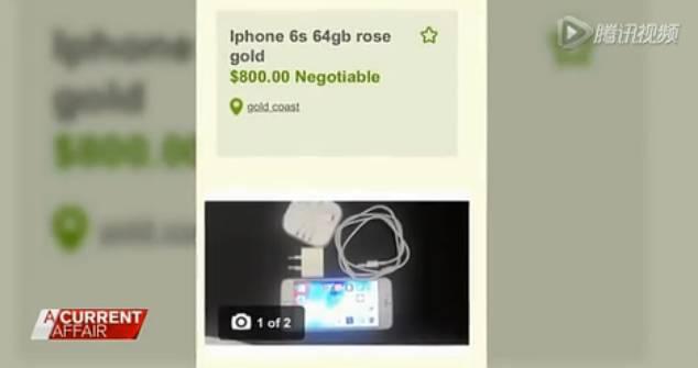 丢人现眼!澳州黑心华人卖山寨苹果手机被电视台曝光!苹果6s买回家成了安卓机…